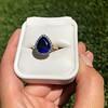 7.00ctw Tanzanite and Diamond Halo Ring 15