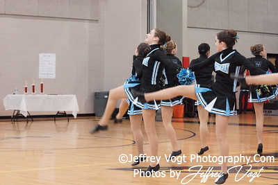 02-04-2012 Walt Whitman HS Division #2 Poms Championship at Richard Montgomery HS, Photos by Jeffrey Vogt Photography