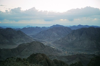 Trekking in the Sinai High Mountains 1996 (selected scans)