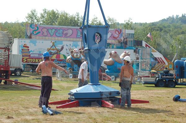 2010 Blue Hill Fair Set Up