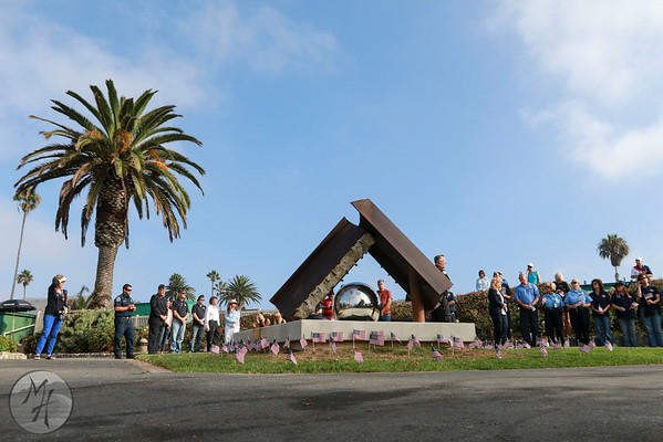 911 Rememberance at Heisler Park 2016