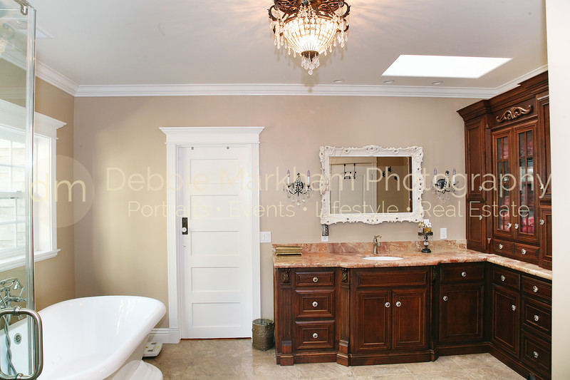 Greystone Manor Real Estate Photography-Master Bathroom with Tub and Custom Cabinets-Cambria.jpg