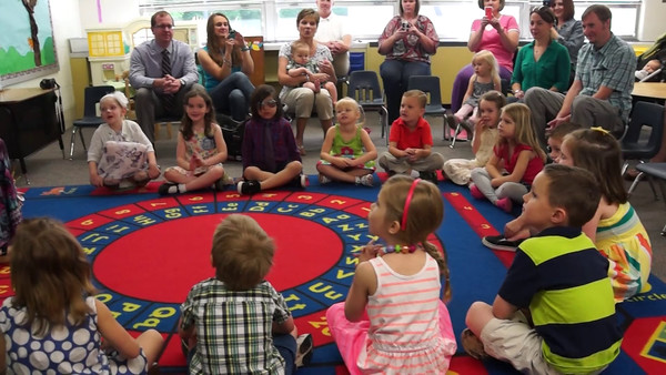 2014 Lily's Preschool Graduation