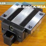 SKU: AM-BLOCK/MSA25E, PMI MSA Series 25E Heavy Load Linear Guideway Carriage (Runner Block)