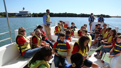 Tampa Bay Watch Estuary Adventures School Field Trip 2012