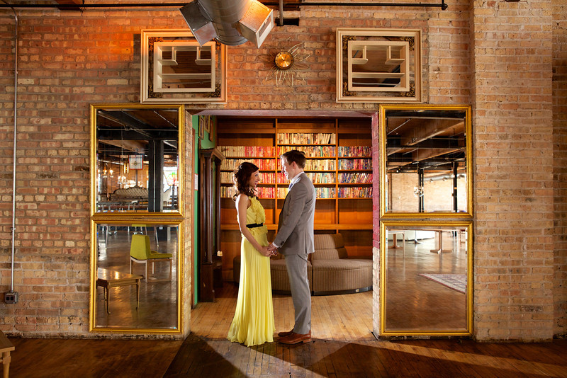Le Cape Weddings - Neha and James Engagement Session at Salvage One Chicago - Indian Wedding  070.jpg