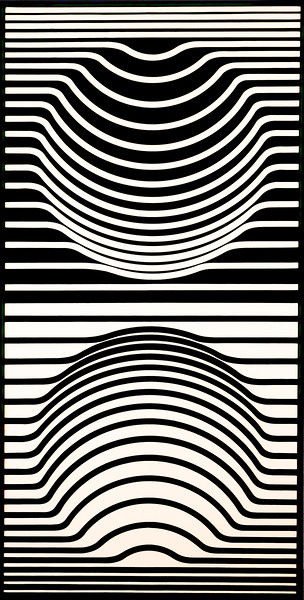 Victor Vasarely: Sir- Ris, 1957