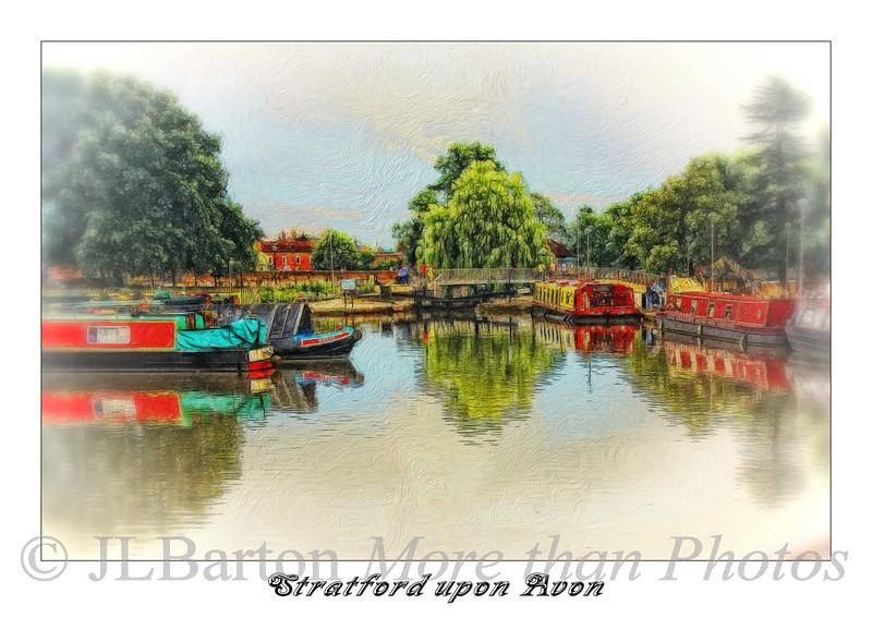 The boat basin at Stratford upon Avon