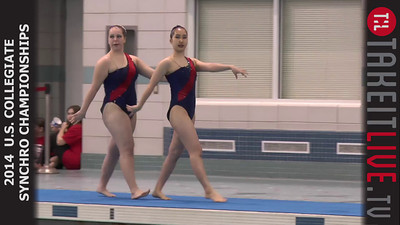 14tl024 - 2014 U.S. Collegiate Synchronized Swimming Championships