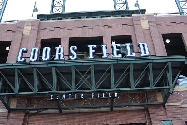 World Series Coors Field 2007