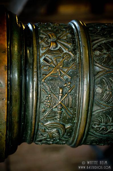 Engraved Pillar    Photography by Wayne Heim