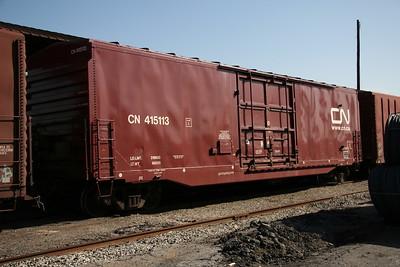 CN, BC, DWC, GTW Boxcars