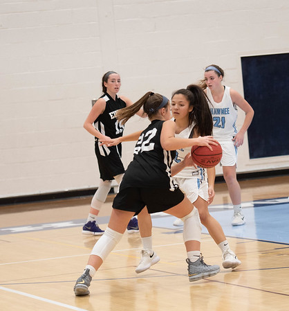 Girls Basketball vs. Bishop Eustace 12/14/18