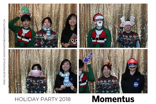 Momentus - Holiday Party 2018