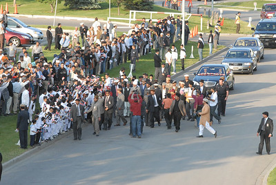Arrival of Huzur in Calgary