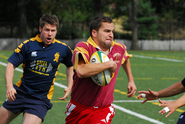 Gotham v. Kingston Rugby, September 26, 2009