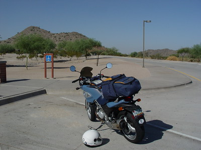 October 2004 F650CS Road Trip