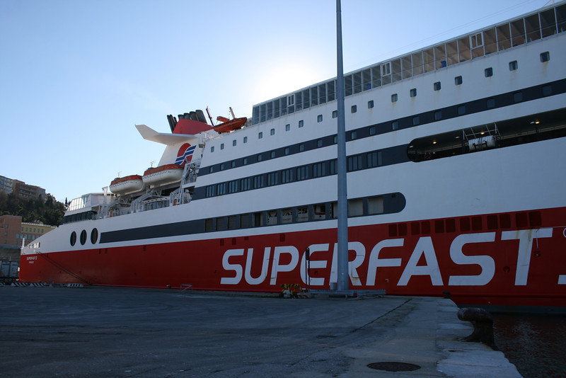 2010 - SUPERFAST XI in Ancona.