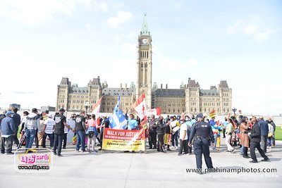 walk for justice  Parliament  Meeting Sept 14 2020
