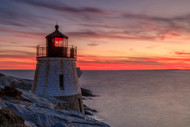 Evening at Castle Hill Lighthouse