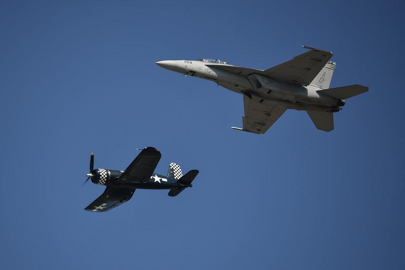 Navy Tailhook Legacy Flight