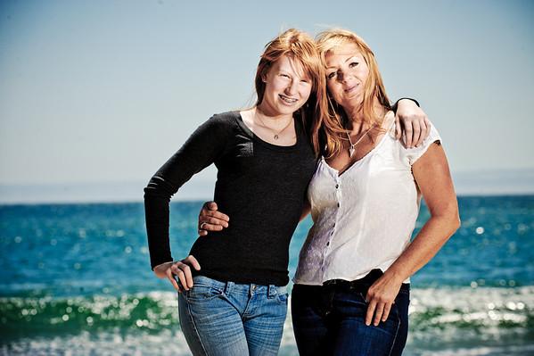 Fiona and Isobel (Family Photography, Lighthouse Field and Dog Beach, Santa Cruz, California)