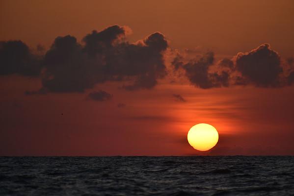 Sunrise over Jekyll 05-16-15