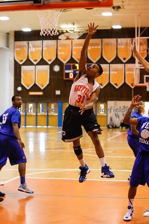 Boys Basketball Scrimmage West Potomac 11/17/12