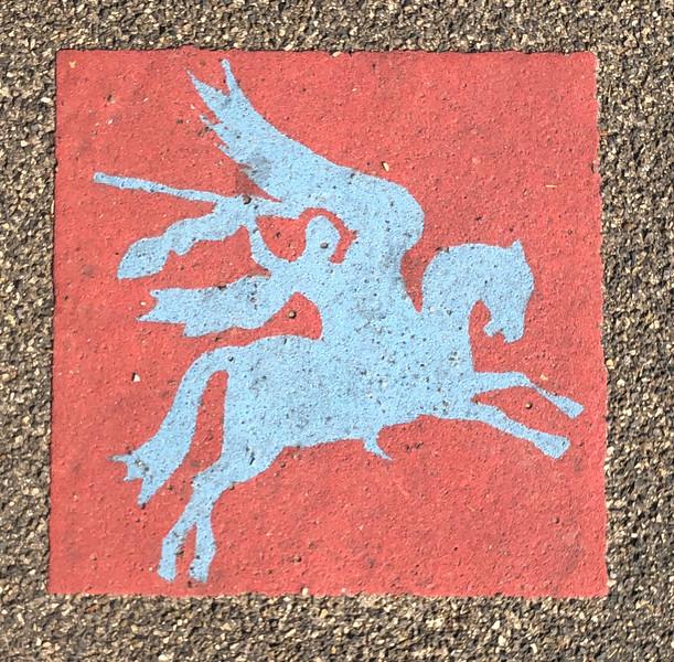 Insignia of the British 1st Airborne Division - Pegasus