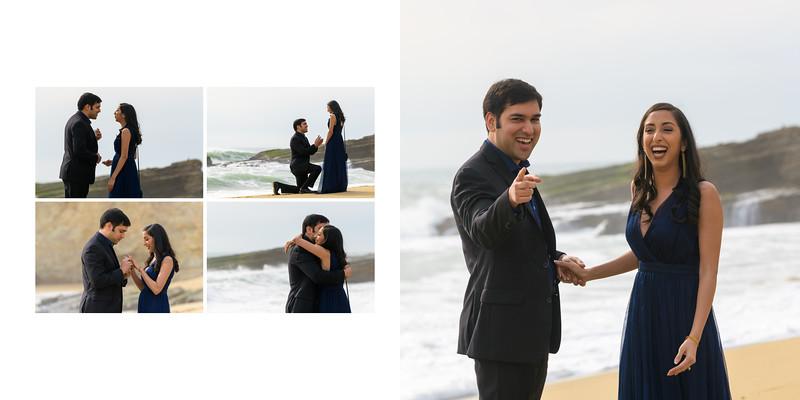 Shamik and Ratika Surprise Proposal at Panther Beach
