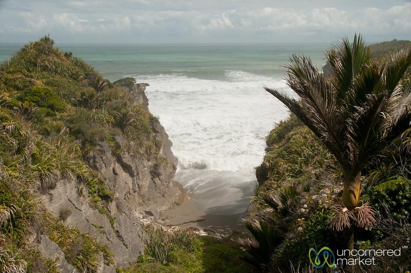West Coastline at Punaikaiki - South Island, New Zealand