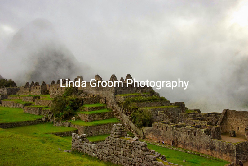 Machu Picchu in the Mist