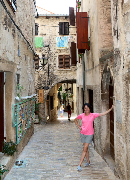 Strolling through the Old Town - Rovinj