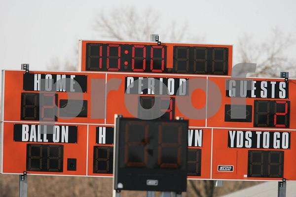 Junior Varsity-Oak Grove vs Harrisonville 4-7-09