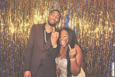 12-31-18 Atlanta Crowne Plaza Photo Booth - Lerissa and Brandon's wedding - Robot Booth