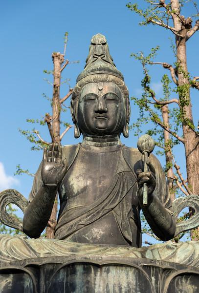 Nisonbutsu Buddha, Senso-ji, Tokyo