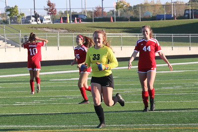GIRLS SOCCER SECTIONALS Crown Point vs. Munster 2020