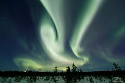 Aurores Boréales/Aurora borealis