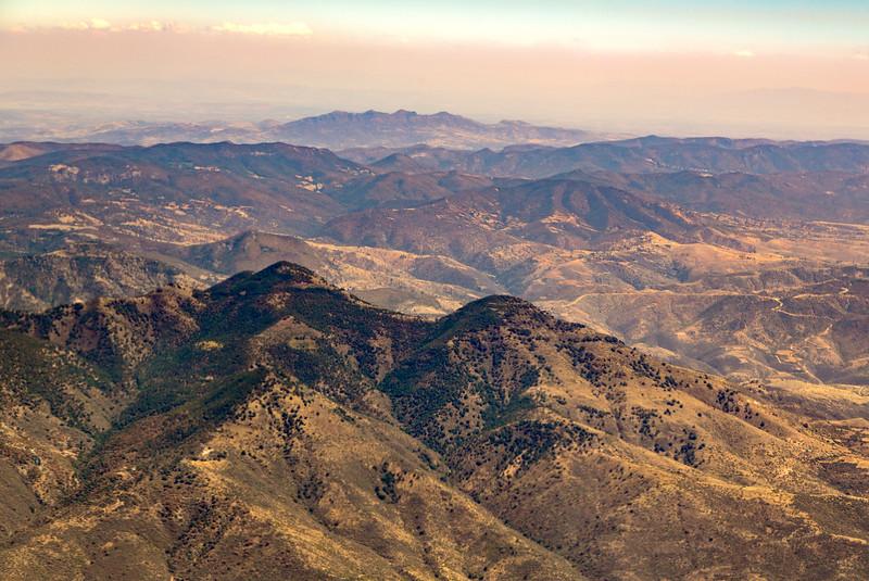 Mountains 25 km NE of Silao, Guanjuato, Mexico