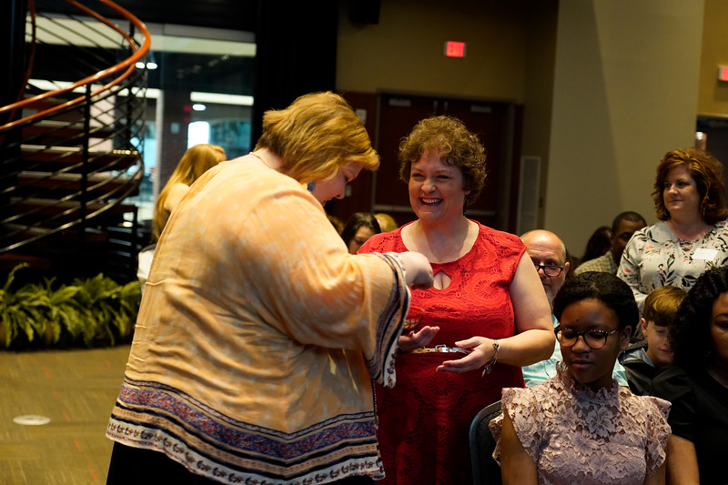 Degree Completion Program Senior Pinning Ceremony