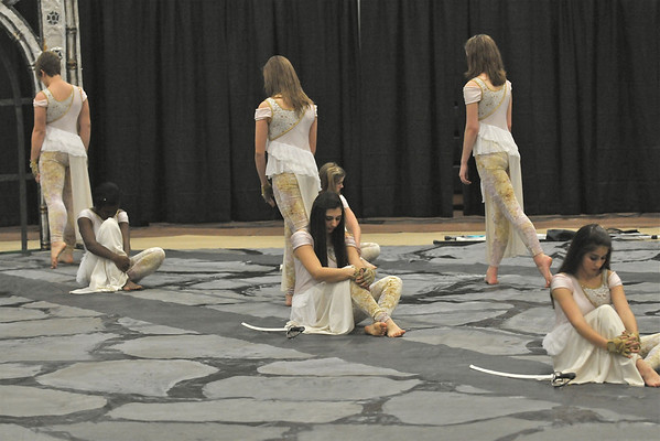 2011-03-26: Varsity Winter Guard Broughton