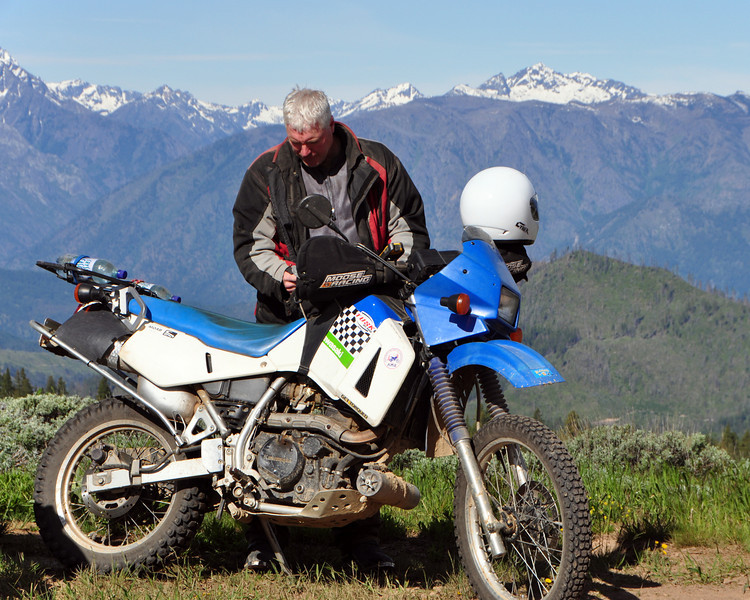 Bill and the Barbee Doll KLR.