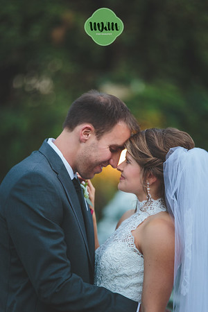 Ashlyn & Nathan's Romantic Garden Wedding at Barclay Villa