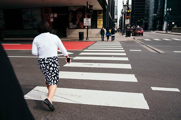 Chicago walk.