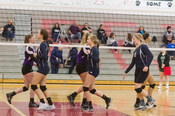2018-10-27 Hillsdale Academy Varsity Volleyball - Conference Tournament - Litchfield