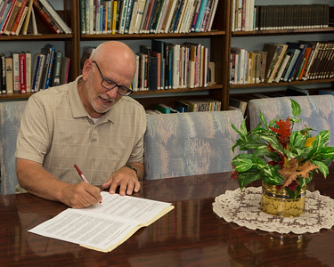 Pastor Mark McCormick - Contract Signing