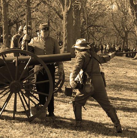 Civil War Reenactment: Prairie Grove Battlefield 2006, Pea Ridge 2007