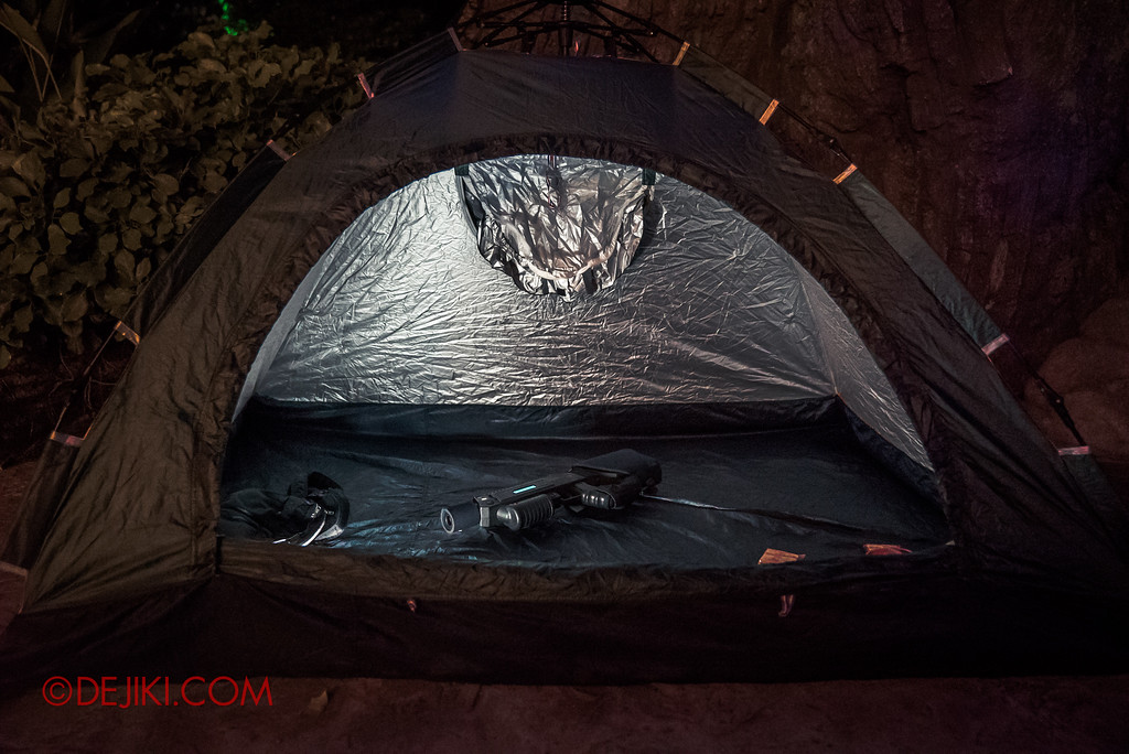 Halloween Horror Nights 7 MasterCard Priceless Experience - A Solo Tent