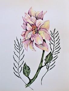 """""""Elegance"""" (watercolor) by Cailyn Ferguson"""