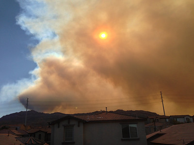 Mt. Charleston Fire - Jul 13
